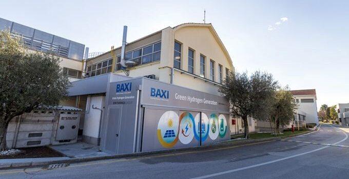 TRANSIZIONE ENERGETICA: l'azienda Baxi in Veneto, punta sulla produzione a impatto zero di idrogeno verde